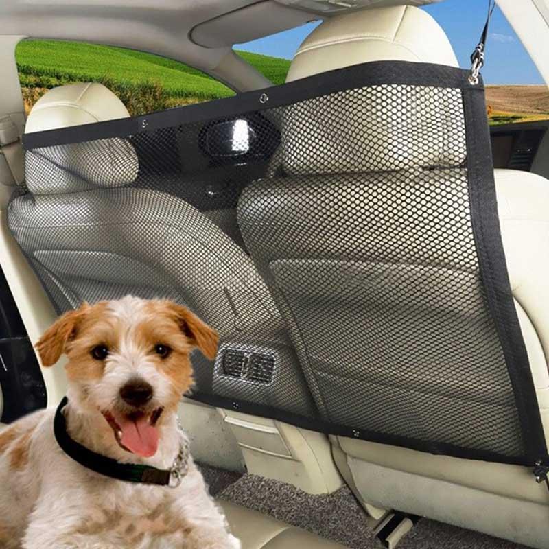 Car Dog Fence Cage Verstelbare installeer auto Hond Veiligheid - Producten voor huisdieren