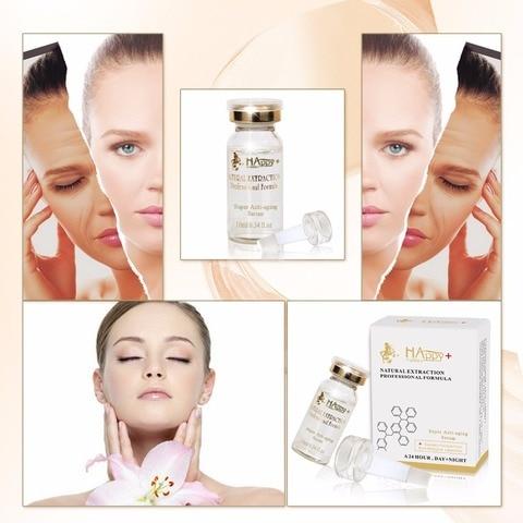 9pcs frete gratis cosmeticos naturais super anti envelhecimento essencia soro levantamento de celulas estaminais melhor