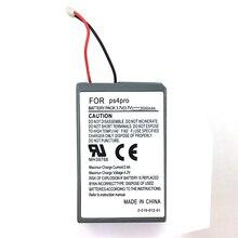 2000 мАч перезаряжаемый запасной аккумулятор+ USB Зарядное устройство кабель для sony PS4 pro Беспроводной контроллер литий-ионная аккумуляторная литий Замена Bateria