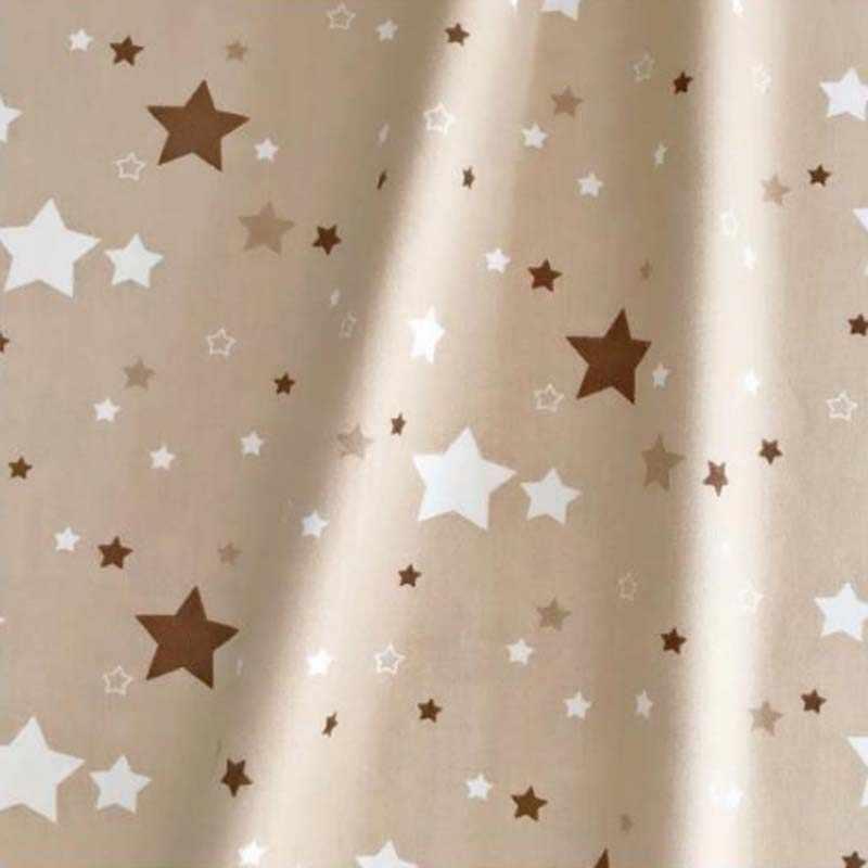 160 CM * 50 CM coton textile nordique vent CAMEL bleu foncé rose gris étoiles pour bricolage literie coussin patchwork décoration de la maison tissu