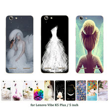 Soft TPU Case for Lenovo Vibe K5 Plus Silicone Cover Back Phone Cases Marriage Printed for A6020 / A6020a46 / Lemon 3 Shell(China)