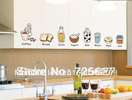Keuken Ikea Kinderen : Gratis verzending wholesale keuken stickers koelkast stickers