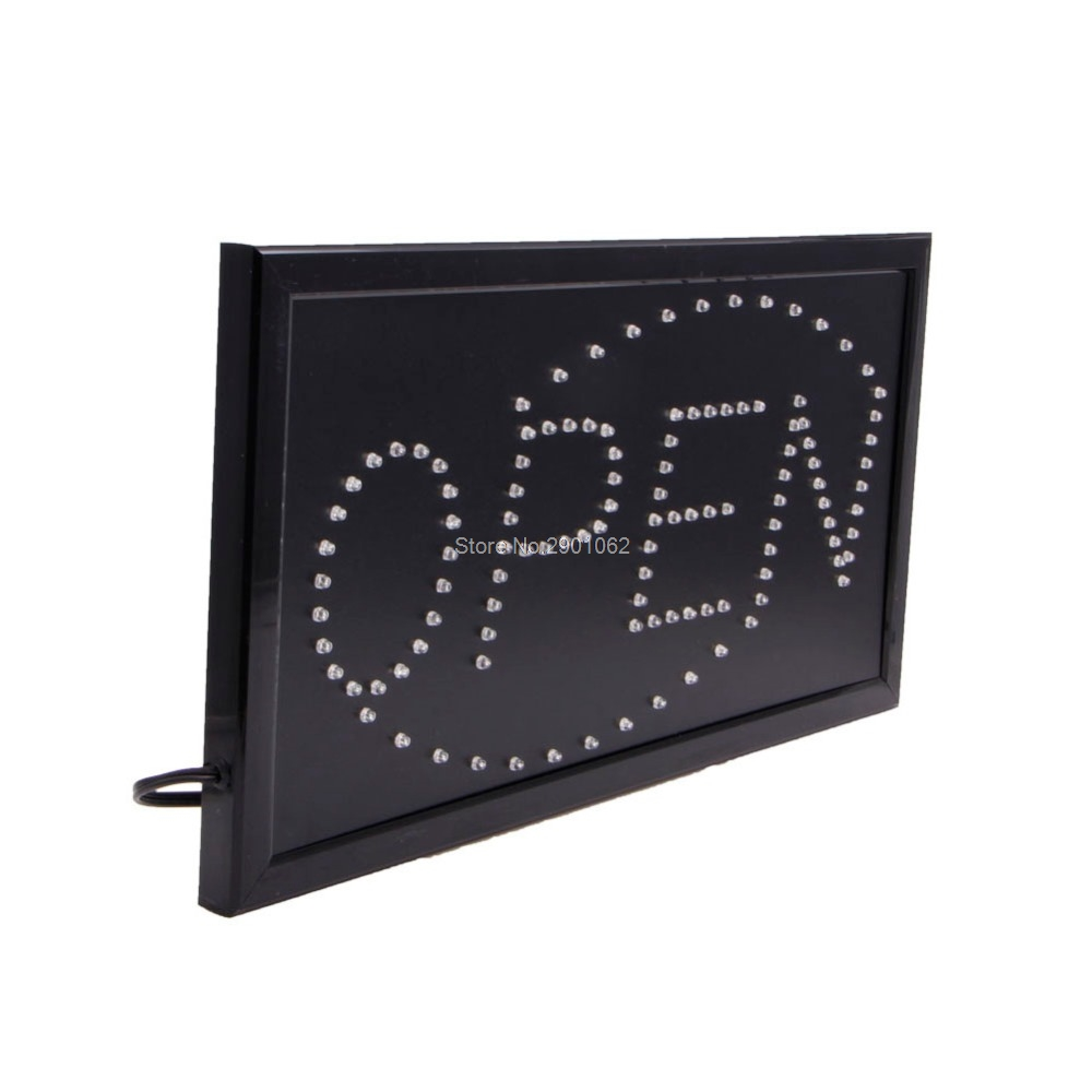 Luzes de Publicidade nova brilhante animated movimento de Utilização : Open Sign