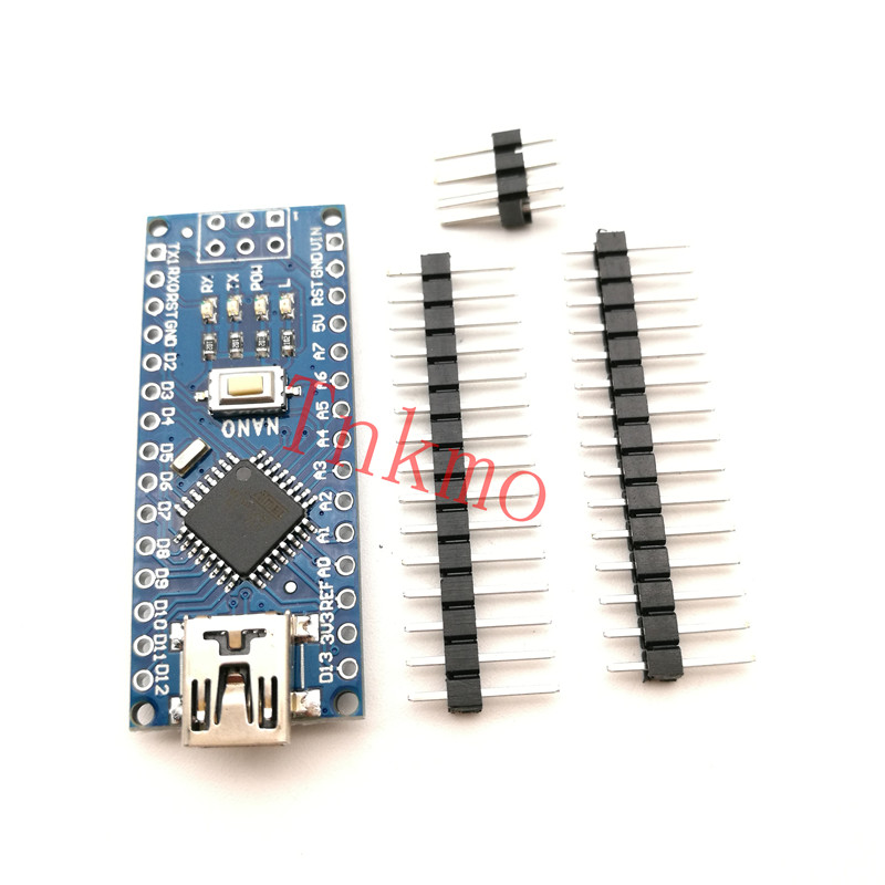 5PCS MINI USB Nano V3.0 ATmega328P CH340G 5V 16M Micro-controller board for arduino NANO 328P NANO 3.0 nano uno shield adapter nano development board for arduino