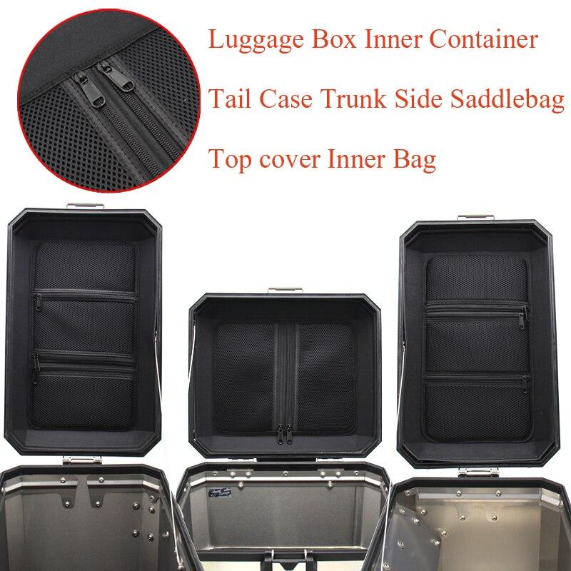 Für BMW R1200GS LC R1250GS ADV F850GS F750GS Gepäck Box Innere Container Schwanz Fall Stamm Seite Sattel Innere Tasche Top abdeckung