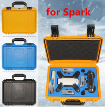 DJI Spark accessories Waterproof Safety Hardshell Hand Bag RC Drone Suitcase Box Backpack Case For DJI Spark drone