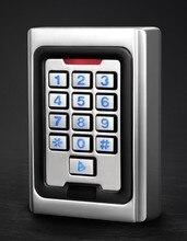 Standalone Keypad Access Control Metal case Silicon Keypad Security Entry Door Reader RFID 125Khz EM Card