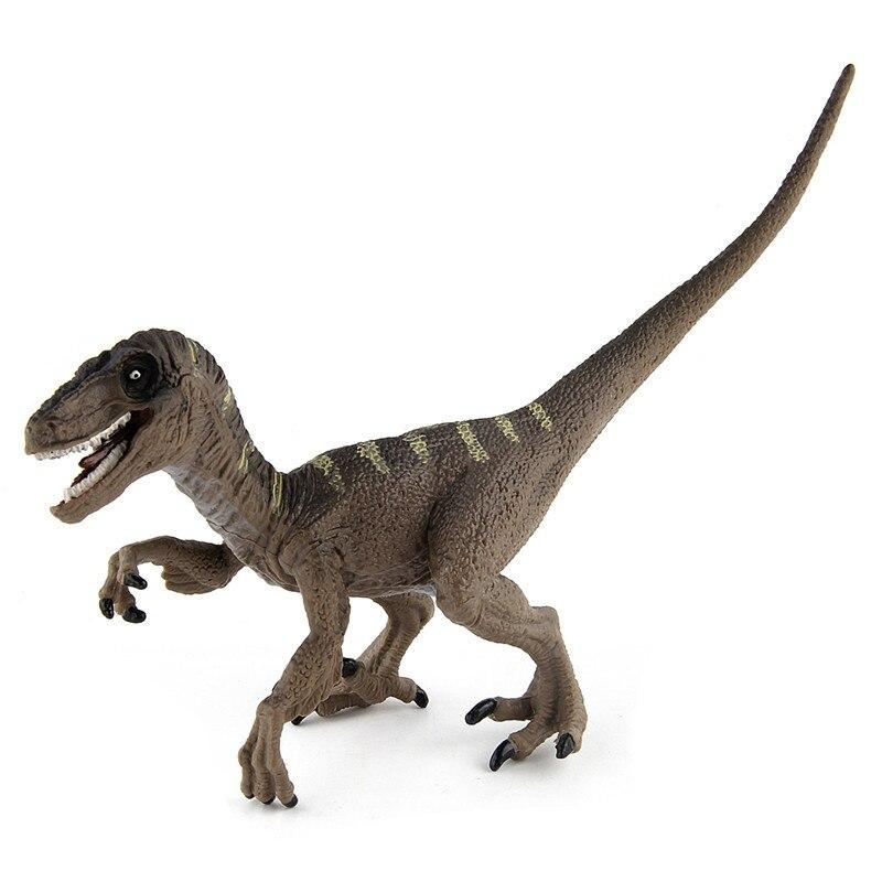 ZXZ Jurassic Velociraptor Dinosaur Velociraptor Toys Figures Animal Model Collection Learning school Educational children toys