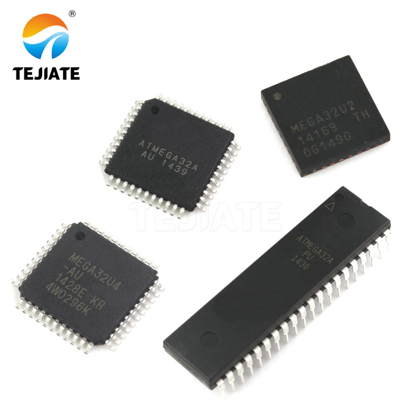1pcs ATMEGA32A-PU MCU 32K FLASH 16MHZ 40-PDIP ATMEGA32 New