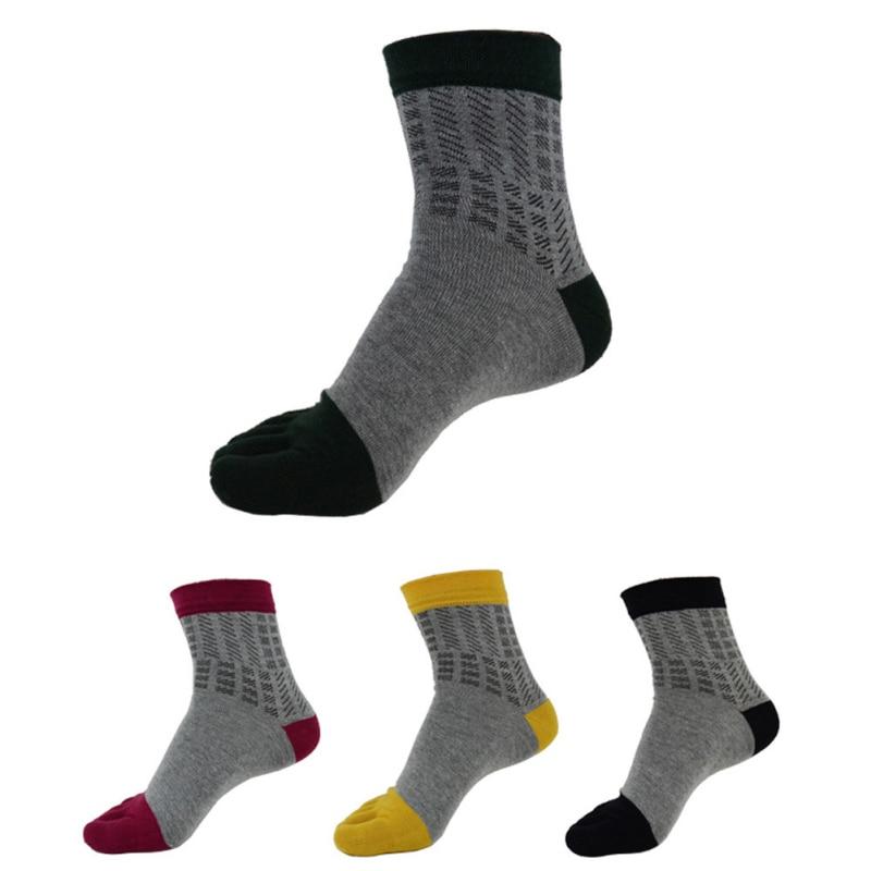 1 pairs new fashion men black colorful sport socks antiskid five fingers sports male climbing shorts