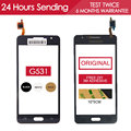 Original Tested Sensor Touchscreen For Samsung Galaxy Grand Prime G531 G531H Touch Screen Glass Panel Black Free Adhesive