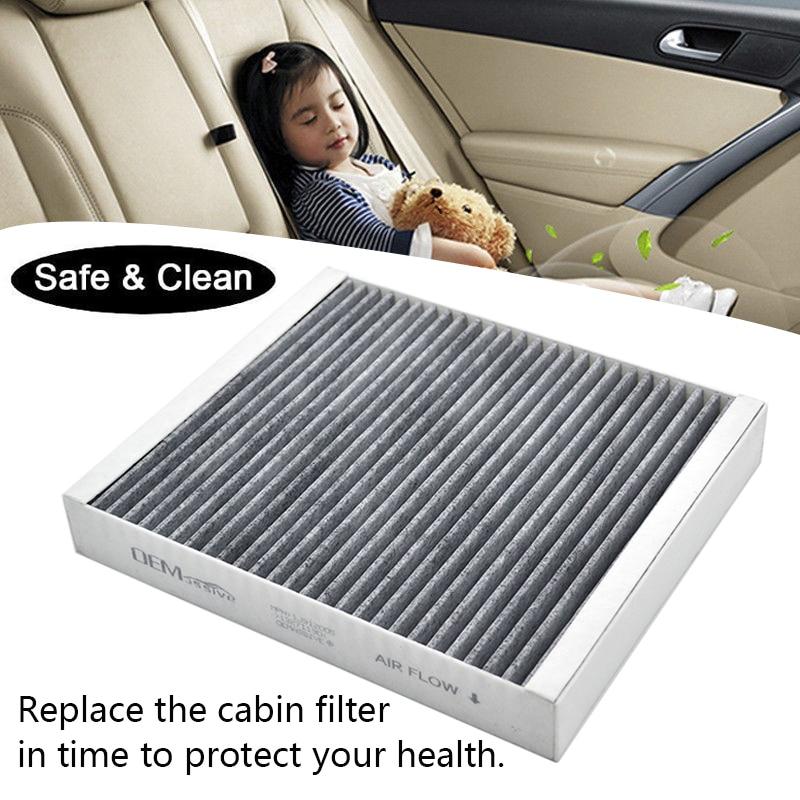 Fits OEM 13271190 Buick LaCrosse Regal Verano Encore Carbon Cabin Air Filter