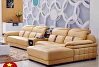 Высокое качество Европейского гостиной кожаный диван o1208