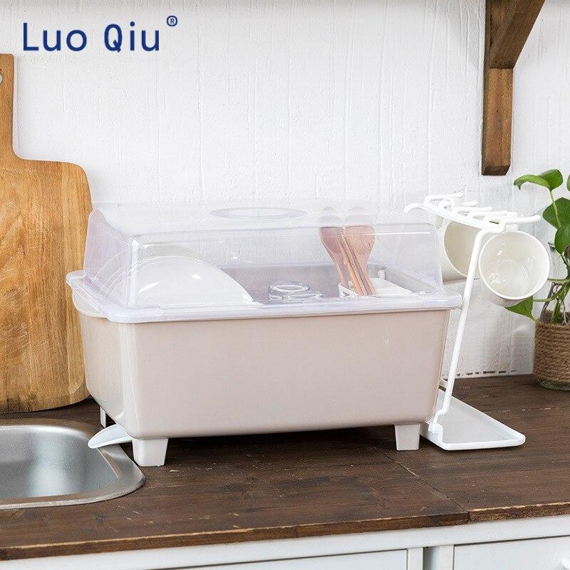 Креативный пыленепроницаемый кухонный шкаф с отделкой стеллаж для хранения leachate стойка с поддержкой