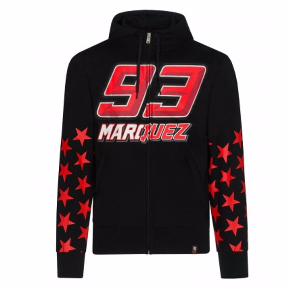2018 New Marc Marquez 93 Zip Hoodie MM93 Moto GP Motorcycle Sports Star models Sweatshirt Crew Fleece цена 2017