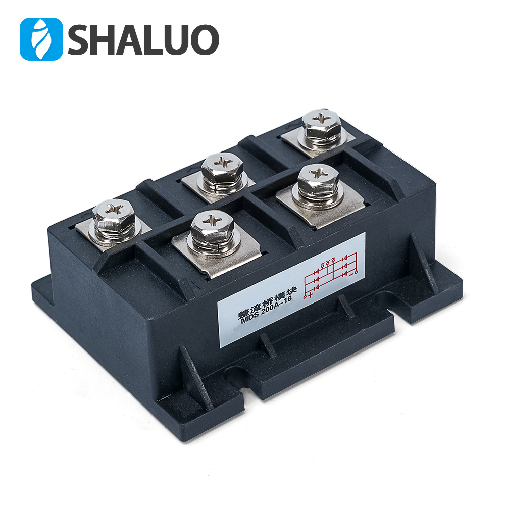 цена на MAS200A Amp 1600V Volt three phase generator rectifier module fast recovery diode rectifier bridge kit for generator MAS 200A-16