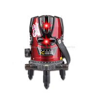 1 Pc 8 Lines 9 Point Laser Level 4V4H9P Rotary Cross Level Laser Line Self Levelling