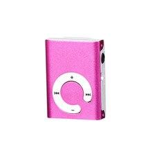 Moda Suporte para cartão Micro SD TF Mini Clipe de Metal USB MP3 Music Media Player Hot17Dec26 Belo Presente de Alta Qualidade