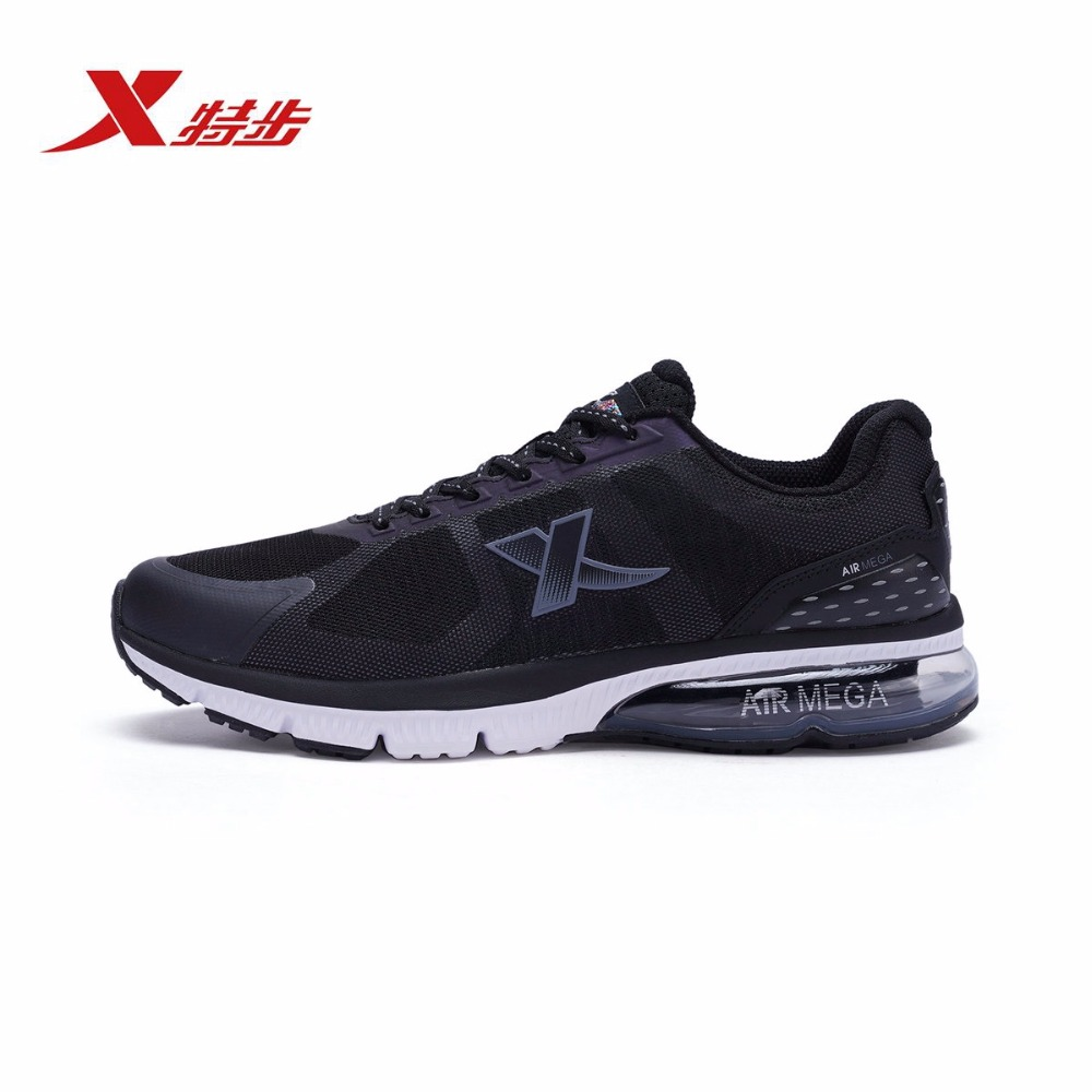 983319116621 Xtep Hot Sell Air Mega Men Cushioning Sport Sneakers Running Shoes for man