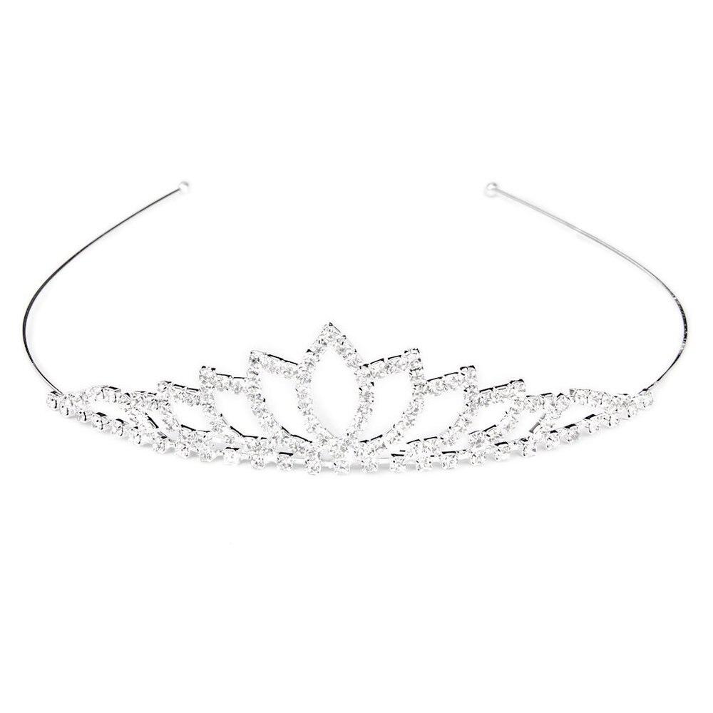 tiara Wholesale( 10 pcs lots )Wedding Tiara Headpieces The Flower Girls Crown Hair Jewelry