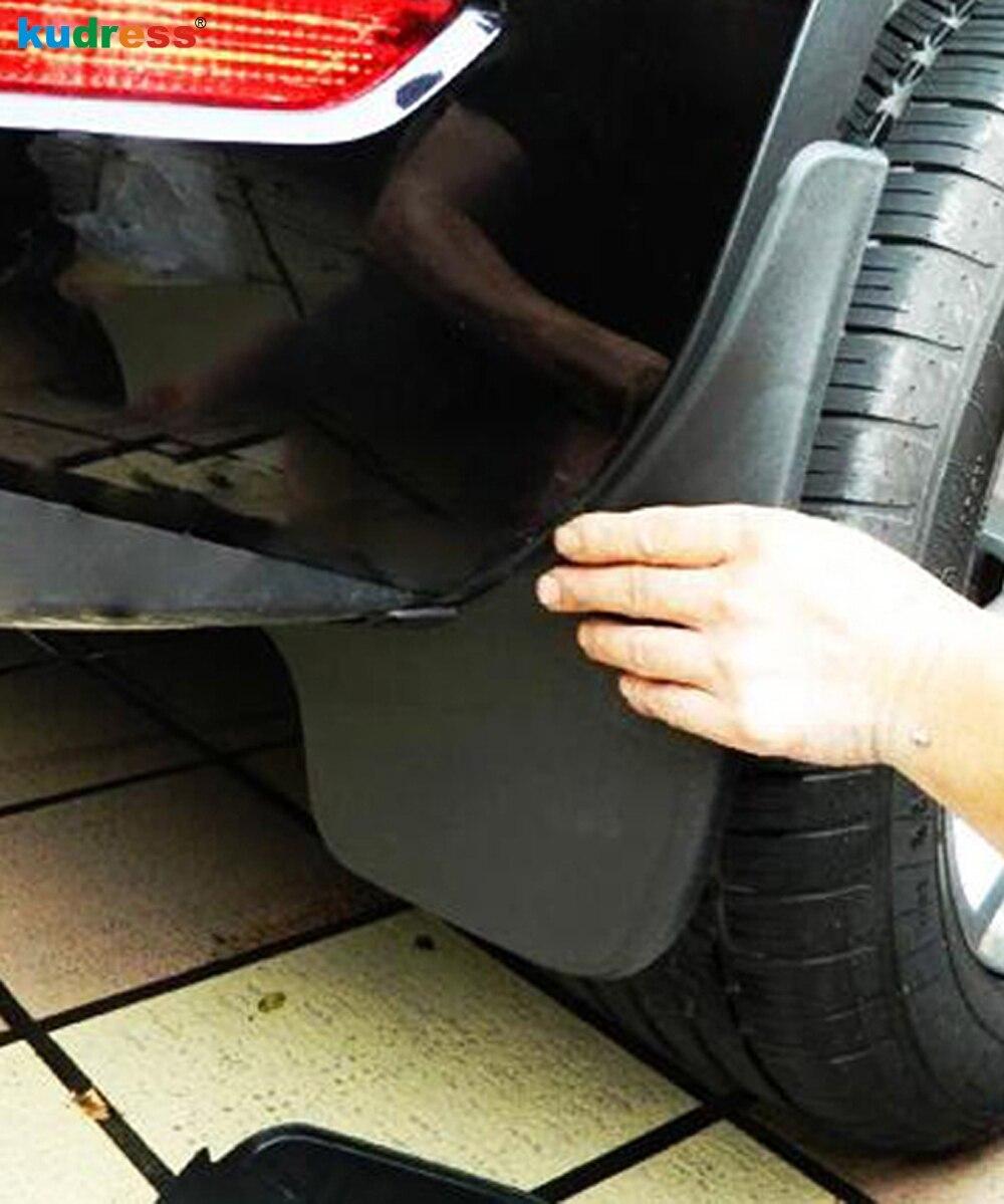 Pro VW Volkswagen Tiguan MK2 2017 2018 2019 Exteriér vozidla Příslušenství Blatník Fender Rain Splash Ochrana proti blátě Kryt blatníku