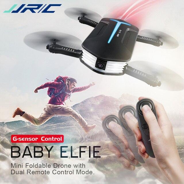 Mini Drones JJRC H37 Mini Baby Selfie Drone with Camera HD Elfie G-Sensor Control Wifi FPV RC Altitude Hold Foldable Quadcopter