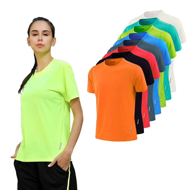 Women Dry Quick Short Sleeve Slim Sport T Shirt Gym Jerseys Fitness Shirt Trainer Running T-shirts Breathable Exercises Yoga raglan sleeve camouflage quick dry stretchy gym t shirt