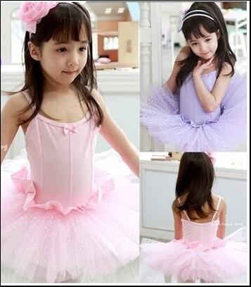 Girls Ballet Tutu Dress Pink Kids Baby Toddler Ballet Dress Classical Ballet Tutu Dance CostumeTulle Ballet Dress For Children