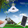 Novel 22 LEDs Super Bright Emergency Lights Rechargeable Solar Power Lamp Remote Control Light Automatic