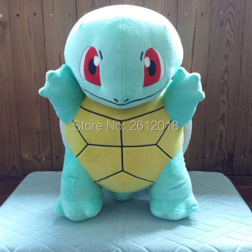 "2016 New official Squirtle Plush Toy 50cm/18"" Soft Doll Gift Large"