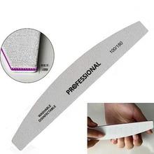 High Quality Professional Double Side Nail File Buffer Block 100/180 Sanding Manicure Pedicure UV Gel Polisher Beauty Tools 5Pcs