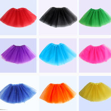 Moda ballet bebê meninas tutu saia crianças pettisuits tutus verão 13 cores saias para meninas dança festa bola petticoat traje