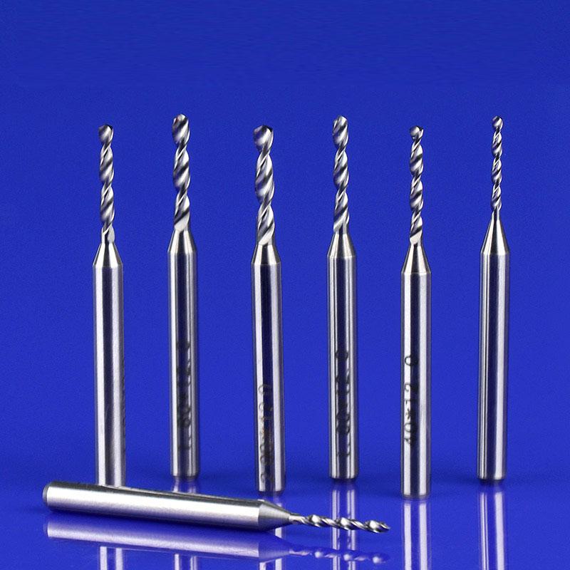 10 szt. 3.175 mm Wiertła z węglików spiekanych Mikro grawerowanie - Obrabiarki i akcesoria - Zdjęcie 4