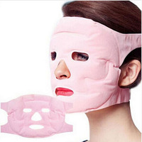 Tourmaline Gel Masks Heating Facial Mask Face Magnet Massager Headwear Anti-computer Radiation Mask Face Spa Whitening Ice Mask