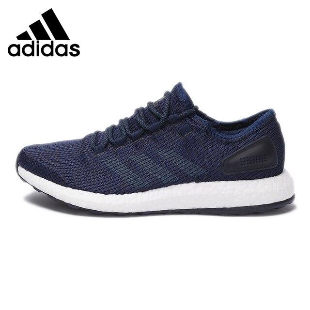 מגניב הגעה חדשה מקורית 2017 אדידס BOOST הטהור של הגברים ריצה נעלי ספורט WE-79