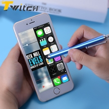 Twitch Universal 3in1 Capacitive Touch Screen Stylus pen For Apple iPhone For ipad for Samsung Tablets Phone Metal Tablet PC Pen