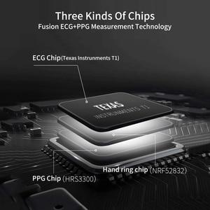 Image 2 - RUNDOING N58 ECG EKG PPG smart watch con ECG display PPG holter ecg heart rate monitor di pressione sanguigna smartwatch
