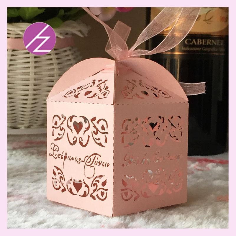 50pcslot Free Shipping Happy Christmasluxury Wedding Favor Gift