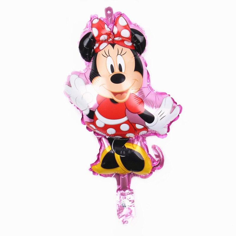 Все манеры Микки Минни воздушные шары на день рождения надувные декорации для вечеринки воздушные шары Детские Классические игрушки мультфильм шляпа - Цвет: 9