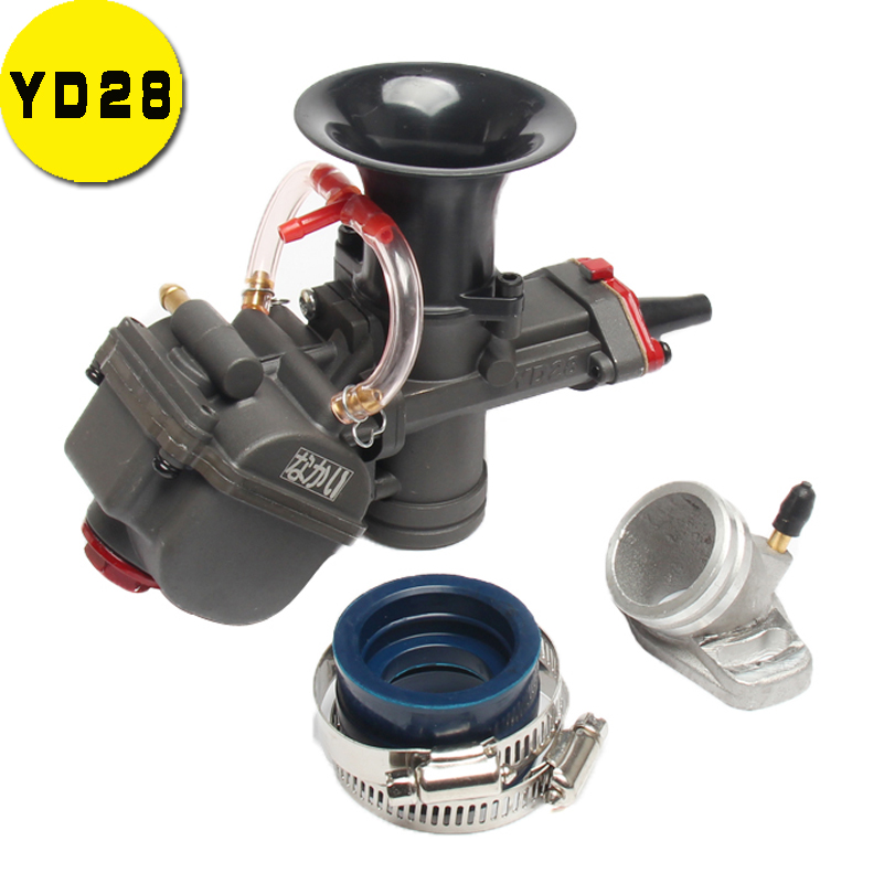 YD28 mm YD 28 Universal Maikuni PWK Carburetor Parts Scooters With Power Jet ATV Motorcycle RACING