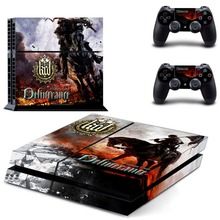 Kingdom Come: Deliverance PS4 Skin Sticker for Sony PS4 PlayStation 4 and 2 controller skins