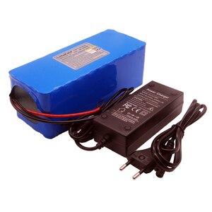 Image 2 - Аккумулятор Liitokala 36 в 10000 мА/ч для велосипеда, электромобиля, скутера, литиевая батарея большой емкости, зарядное устройство 42 в, 2 А