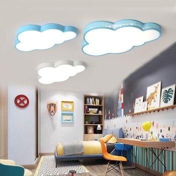 Moderne Nuages Led Plafonniers Pour Chambre étude Chambre Enfants Chambre Enfants Maison Déco Blanc/bleu Plafonnier