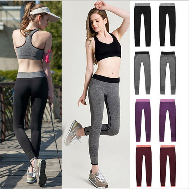 YGFENG Women Casual Leggings Quick Drying Elastic
