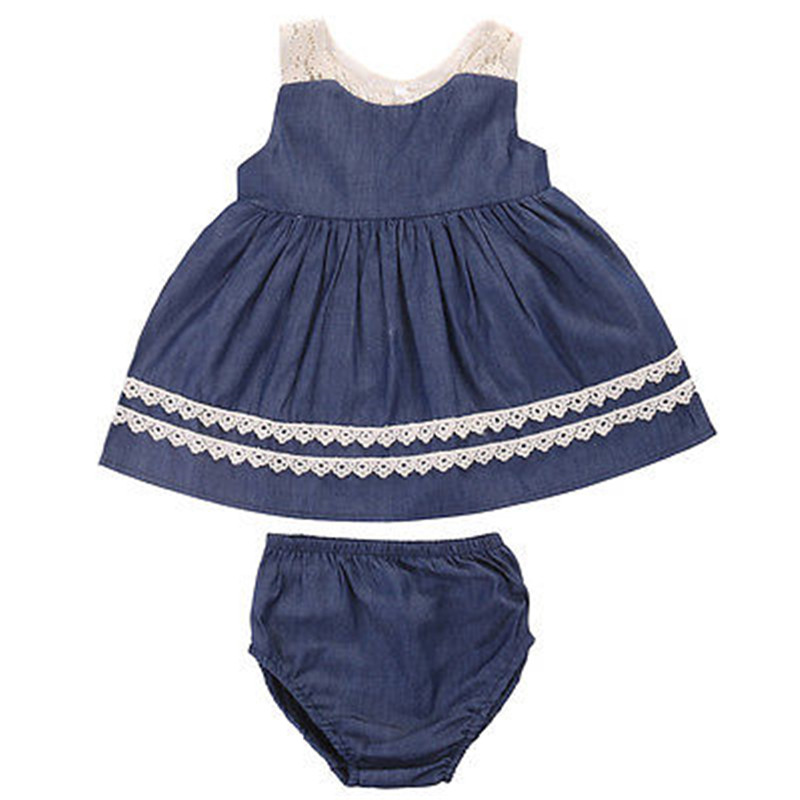 Baby Dressing Gown: Summer Baby Dress Toddler Kids Baby Girls Fashion