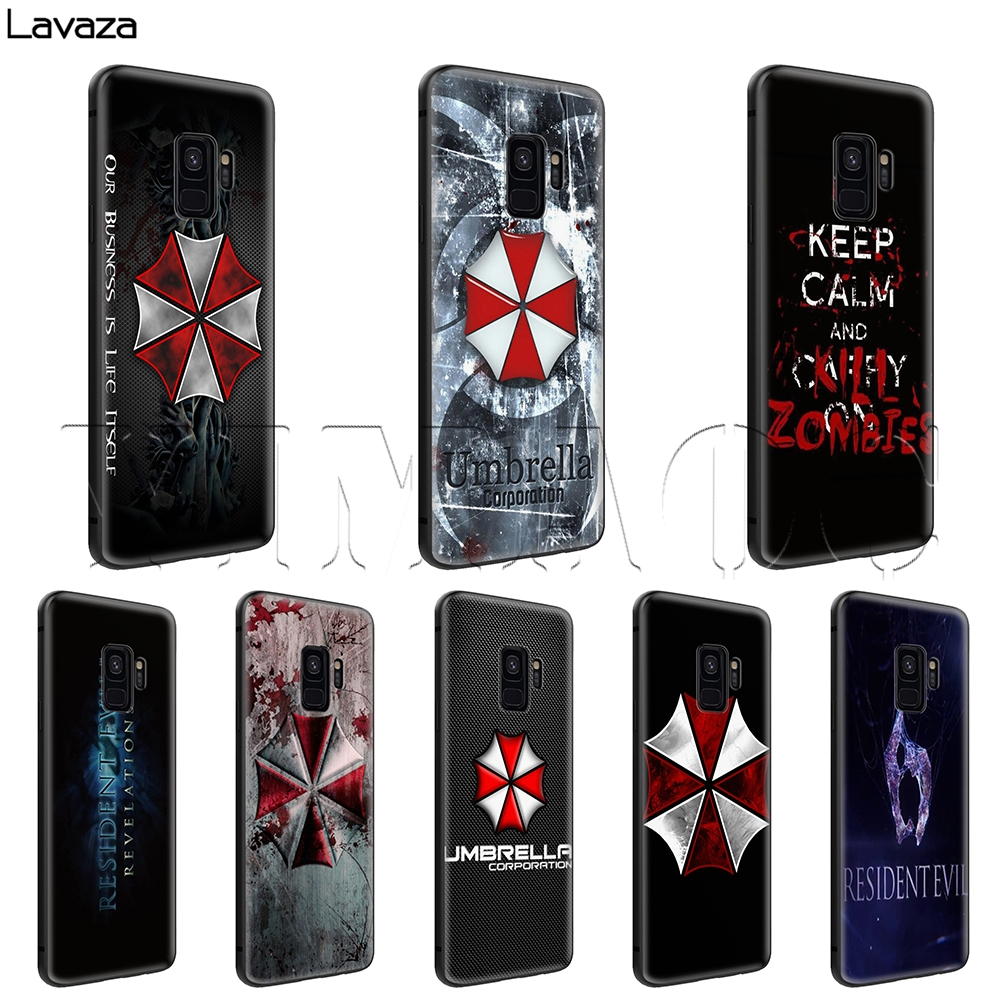 Reliable Lavaza Resident Evil Umbrella Corporation Case For Samsung Galaxy A10 A30 A40 A50 A70 M10 M20 M30 Price Remains Stable Phone Bags & Cases Fitted Cases