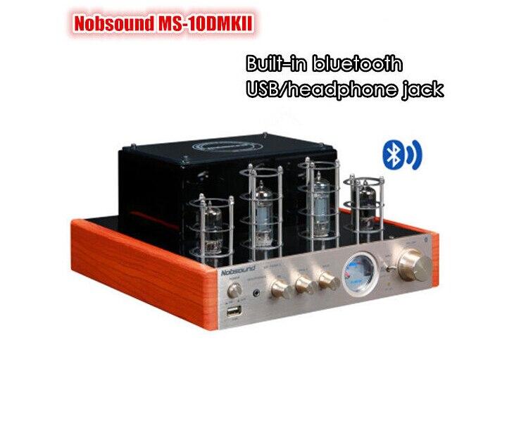 bilder für Musik halle neue nobsound ms-10d mkii röhrenverstärker mit bluetooth/usb/kopfhörer hifi stereo amp audio verstärker 110-240 v