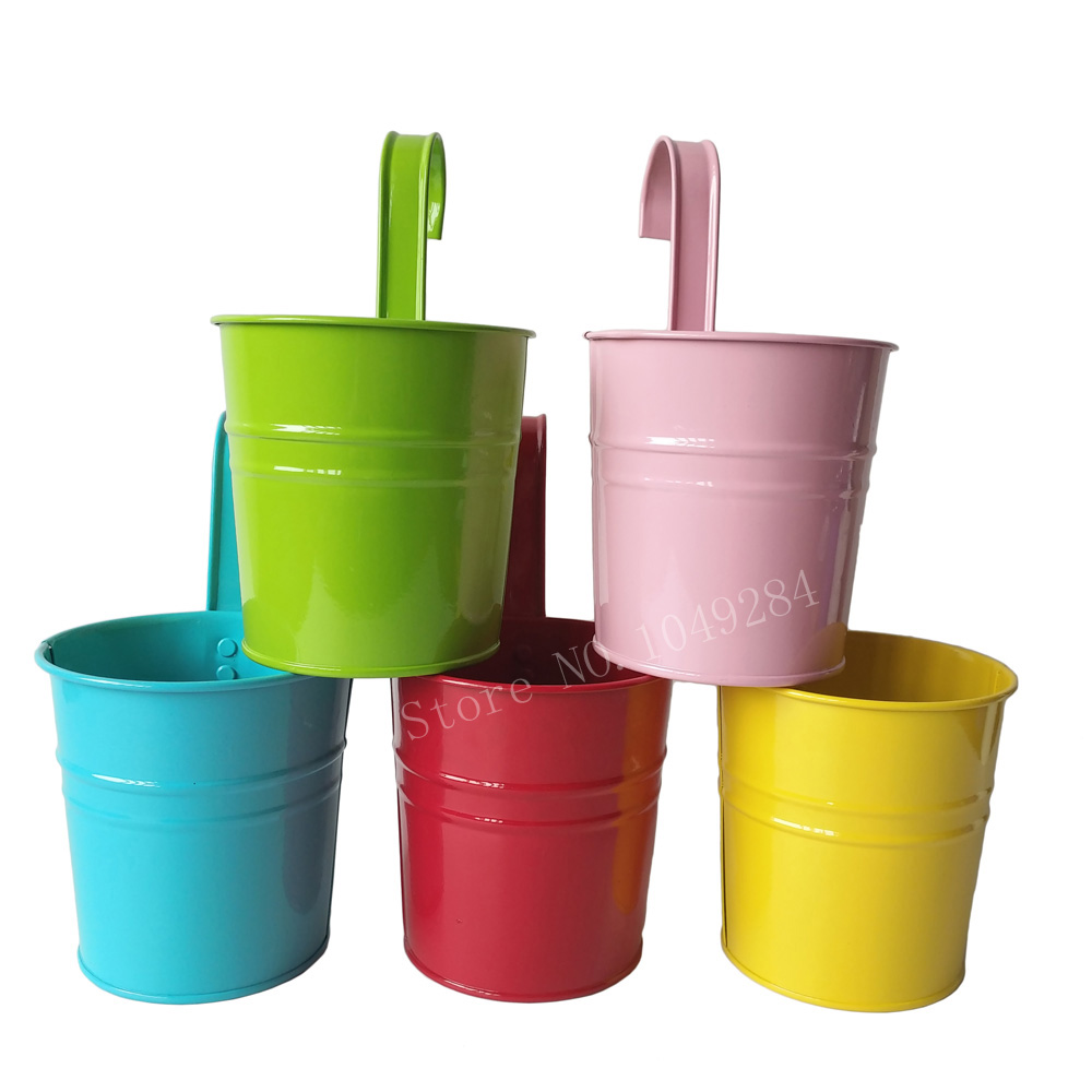 Free shipping 10Pcs/Lot Colorful Metal Plant Flower Pot Hook Planter  Hanging Buckets wall hanging planter balcony flower tub - Online Get Cheap Hanging Planter Hooks -Aliexpress.com Alibaba Group