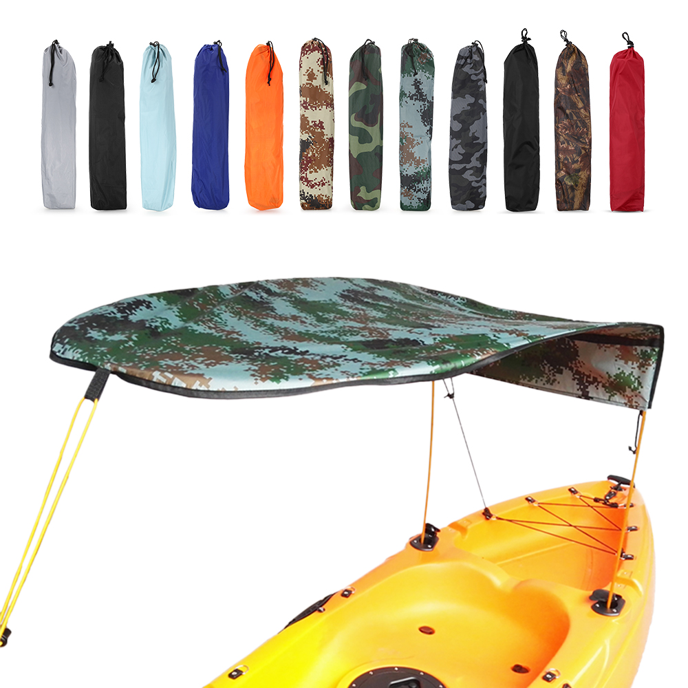 Kayak pour une personne abri de soleil pour bateau à voile auvent pour voilier couverture supérieure pour Kayak bateau