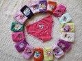 (10 Pçs/lote) Calcinhas das meninas underwear calções crianças cuecas calcinhas próximos das crianças roupa infantil